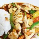 Pad Preow Waan Rindfleisch